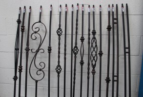Iron Rod Pickets As Low As $3.99/PC