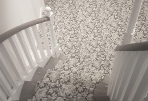 Carpet Stair Runner As Low As $700 Installed With Pad