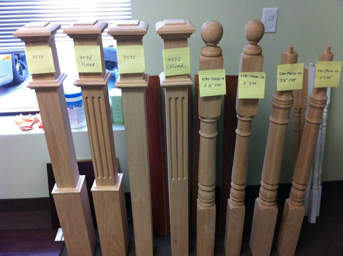 Plywood Oak Maple Stair Treads Spindles Iron Rods Toronto