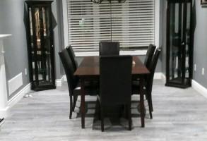Commercial European Laminate Flooring Light Grey