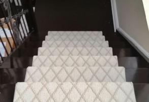Carpet Runner Diamond Pattern