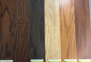 Harris Engineered Hardwood Made In U.S.A Engineered Hardwood Click 5'' Oak 5G Locking System $2.79/sf