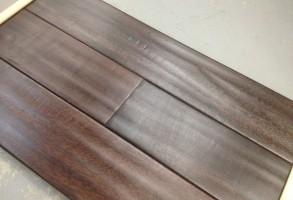 Solid Jatoba Hand Scraped Hardwood 5″ wide Coffee $4.75/SF