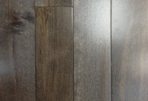 Maple Solid Hardwood 3.5″ Wide Grey $3.89/SF