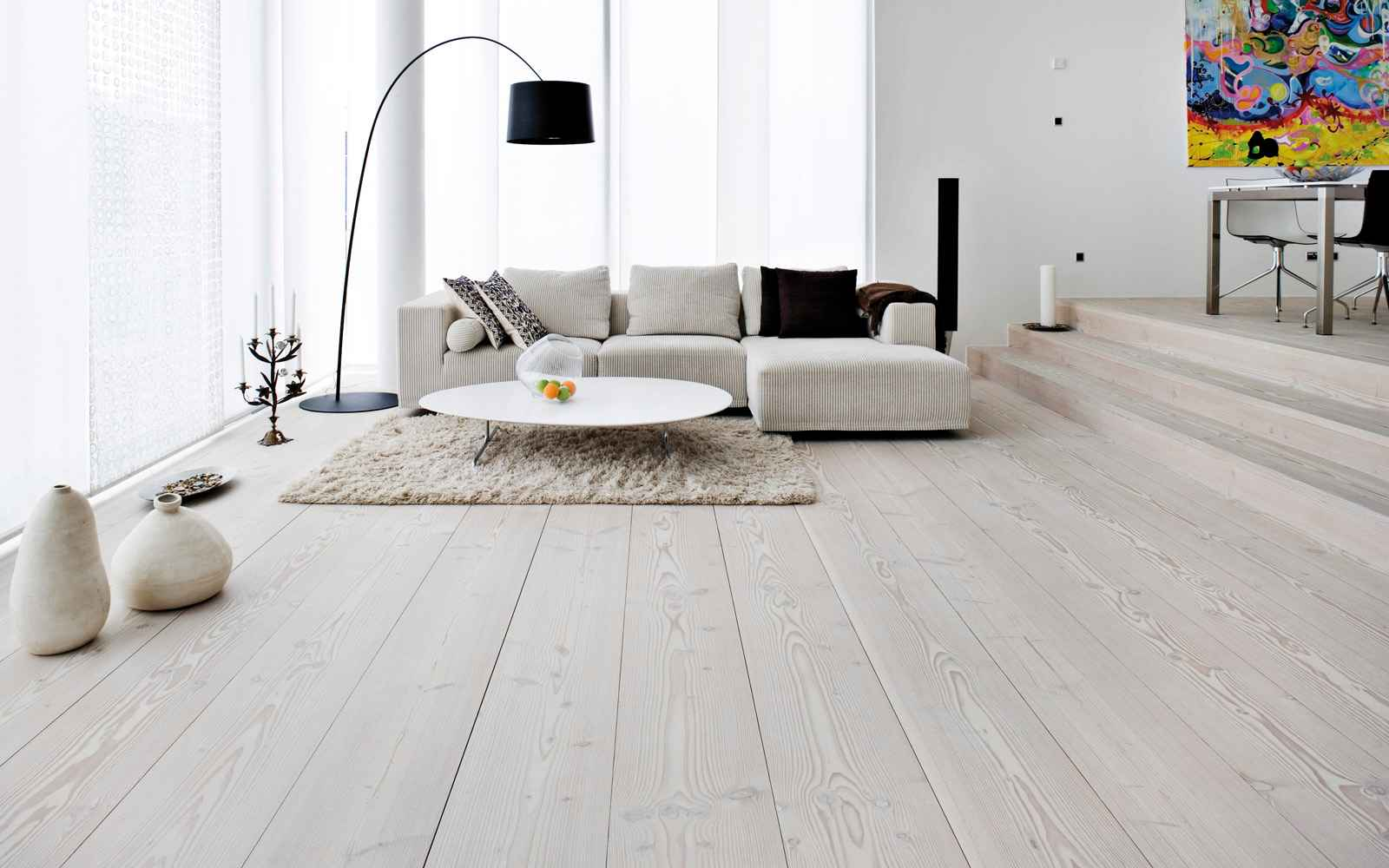 German Laminate Flooring White Wash