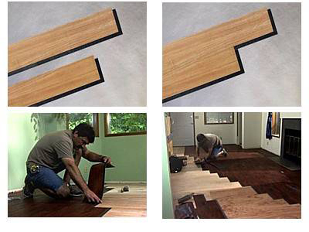 4mm 5mm 6mm Vinyl Click Plank Flooring